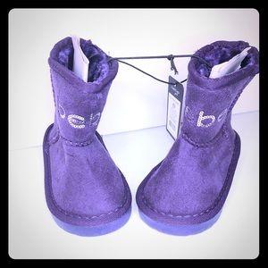Bebe Toddler Girls Purple Boots